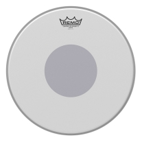 Remo CX011410 Controlled Sound X Drum Head, 14-Inch, Black Dot on Bottom