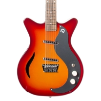 Danelectro Exclusive '56 12-String Semi Hollow Electric Guitar In Alto Sunburst