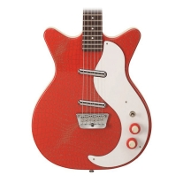 Danelectro '59 Original Alligator Red Guitar