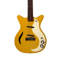 Danelectro D59M Spruce Semi Hollow Electric Guitar In Buttercup