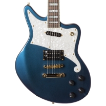 D'Angelico Deluxe Bedford Electric Guitar In Chameleon