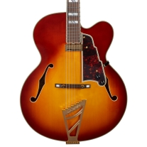 D'Angelico Excel Series EXL-1 Hollowbody Electric Guitar In Iced Tea Burst