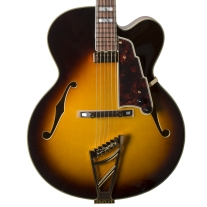 D'Angelico Excel Series EXL-1 Hollowbody Electric Guitar in Vintage Sunburst