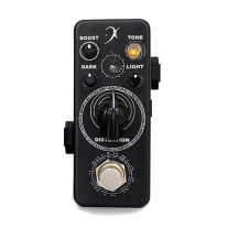 F Pedals Darklight P.O.R. Series Distortion Pedal Lite