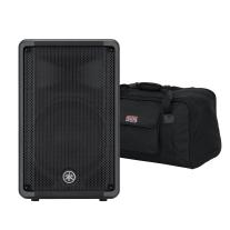 "Yamaha DBR10 10"" 2-Way Powered Loudspeaker and Case Bundle"