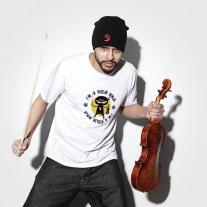 D'addario DF117S Violin Ninja T-Shirt - SMALL