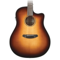 Breedlove Discovery Series Dreadnought AC/EL Guitar - Sunburst w/ Gigbag