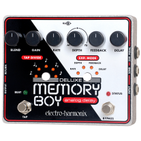 Electro Harmonix Deluxe Memory Boy Tap Tempo Analog Delay