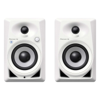 Pioneer DJ DM-40BT-W Bluetooth Desktop Monitors - White