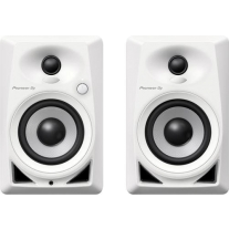 Pioneer DJ DM-40-W Desktop Monitor Speakers - White