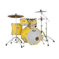 Pearl DMP925SP/C228 Decade Maple 5 Piece Shell Pack In Solid Yellow