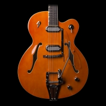 Duesenberg Gran Royale Vintage Orange Semi-Hollow Guitar w/ Case