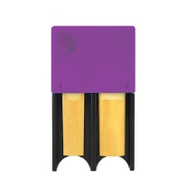 D'addario Reed Guard in Purple for Bb Clarinet And/Or Alto Saxophone Reeds