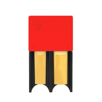 D'addario Reed Guard in Red for Bb Clarinet And/Or Alto Saxophone Reeds