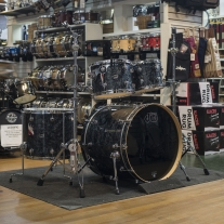 DW Workshop Performance Series Shell Kit in Black Diamond Finish