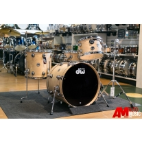 Drum Workshop Collectors Series Drum Kit in Satin Natural with Chrome Hardware
