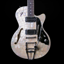 Duesenberg Starplayer TV Ice Pearl w/ Case