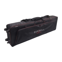 Dexibell DXBAG88 Padded Bag with Wheels