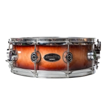 PDP 5x14 One Ply Maple Shell Snare Drum In Burnt Toast Finish