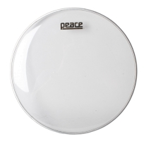 """Peace 14"""" Clear Single Ply Drumhead"""