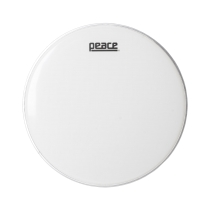 """Peace 14"""" Smooth White Single Ply Drumhead"""