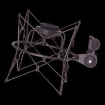 Neumann EA87MT Shock Mount in Black for U87 Microphone