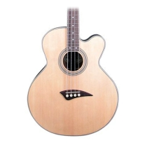 Dean EABC Cutaway Acoustic/Elec Bass Guitar in Satin Natural