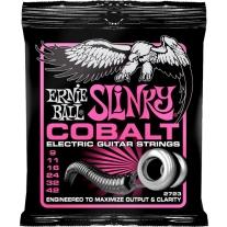 Ernie Ball 2723 Slinky Cobalt Electric Guitar Strings - 9 Gauge