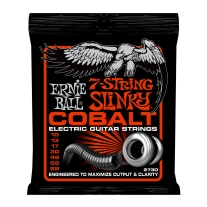 Ernie Ball 2730 Cobalt Skinny Top Heavy Bottom 7 String Guitar Strings 10-62