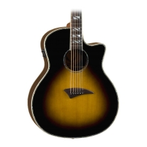 Dean Scott Weiland SIgnature Exotica Acoustic-Electric Guitar - Trans Brazilia