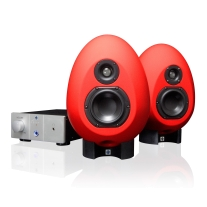Munro Sonic Red EGG100 Analog Monitoring System Pair & Amplifier Control