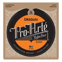 D'Addario Pro-Arte Nylon Classical Guitar Strings, Light Tension EJ43