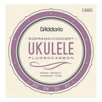 D'Addario EJ99SC Pro-Arté Carbon Ukulele Strings, Soprano / Concert