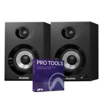 Alesis Elevate 4 Active Desktop Monitors Pair & Pro Tools 1-Year Subscription