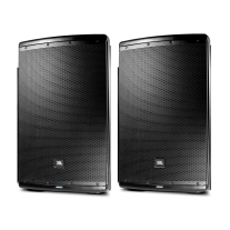 "JBL EON615 Powered 15"" Two-Way Speaker System Pair"