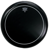 Remo ES0614PS Ebony Pinstripe Drum Head, 14""
