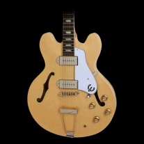 Epiphone Casino Guitar in Natural Finish