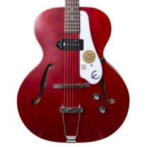 Epiphone ETCNCHNH1 1966 Century Hollow-Body Electric Guitar in Cherry