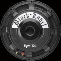 "Electro-Voice EVM12L Zakk Wylde Black Label Guitar Speaker (300 Watts, 12"")"