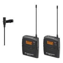 Sennheiser ew112pG3 Camera-Mount Wireless Mic System with ME 2 Lav Mic - A1