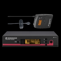"Sennheiser EW122G3B Cardiod Lavalier Wireless ""B"" Frequency"