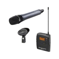 Sennheiser ew135pG3 Camera Mount Wireless Mic System with 835 Handheld Mic - A1