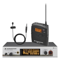 Sennheiser EW312 G3 Wireless Bodypack Mic System with ME2 Lavalier Mic (A1)