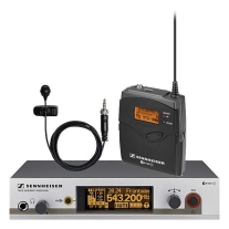 Sennheiser EW322 G3 Wireless Bodypack Mic System with ME4 Lav Mic (A1)