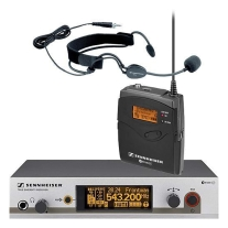 Sennheiser EW352 G3 Wireless Bodypack Mic System with ME3 Headset Mic (A1)