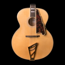 D'Angelico EX-63 Archtop Non-Cutaway Natural Guitar