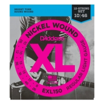 D'Addario EXL150 Regular Light 12-String 10-46