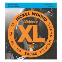 D'Addario EXL160 Gauge Nickel Wound Electric Bass Strings