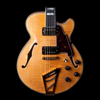 Dangelico EXSS Semi Hollow Electric Guitar in Natural