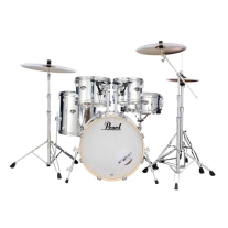Pearl Export EXX 5-Piece Drum Set In Mirror Chrome